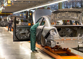 Automotive plant picture