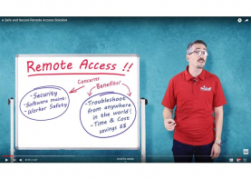 Remote connectivity video image